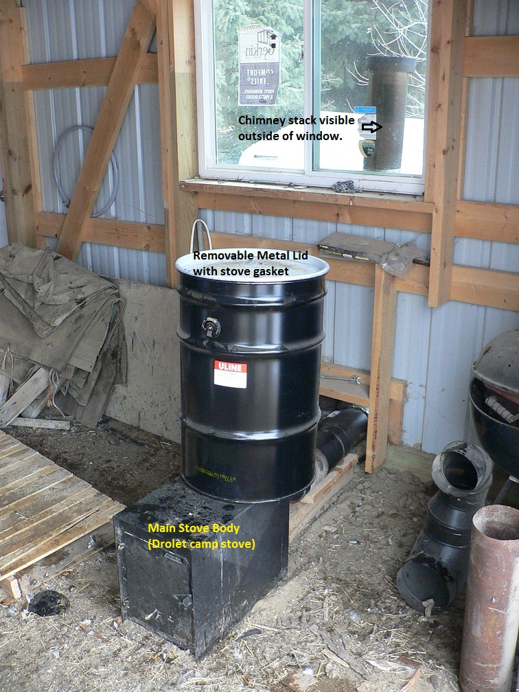 Fwiw Rocket Stove Heater Concept No Mass For Shop