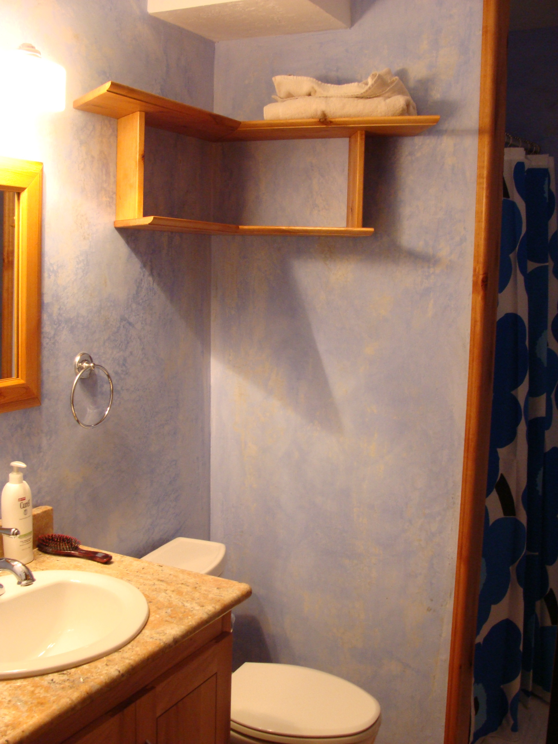 Bathroom Remodel Retrofitting With Natural Materials