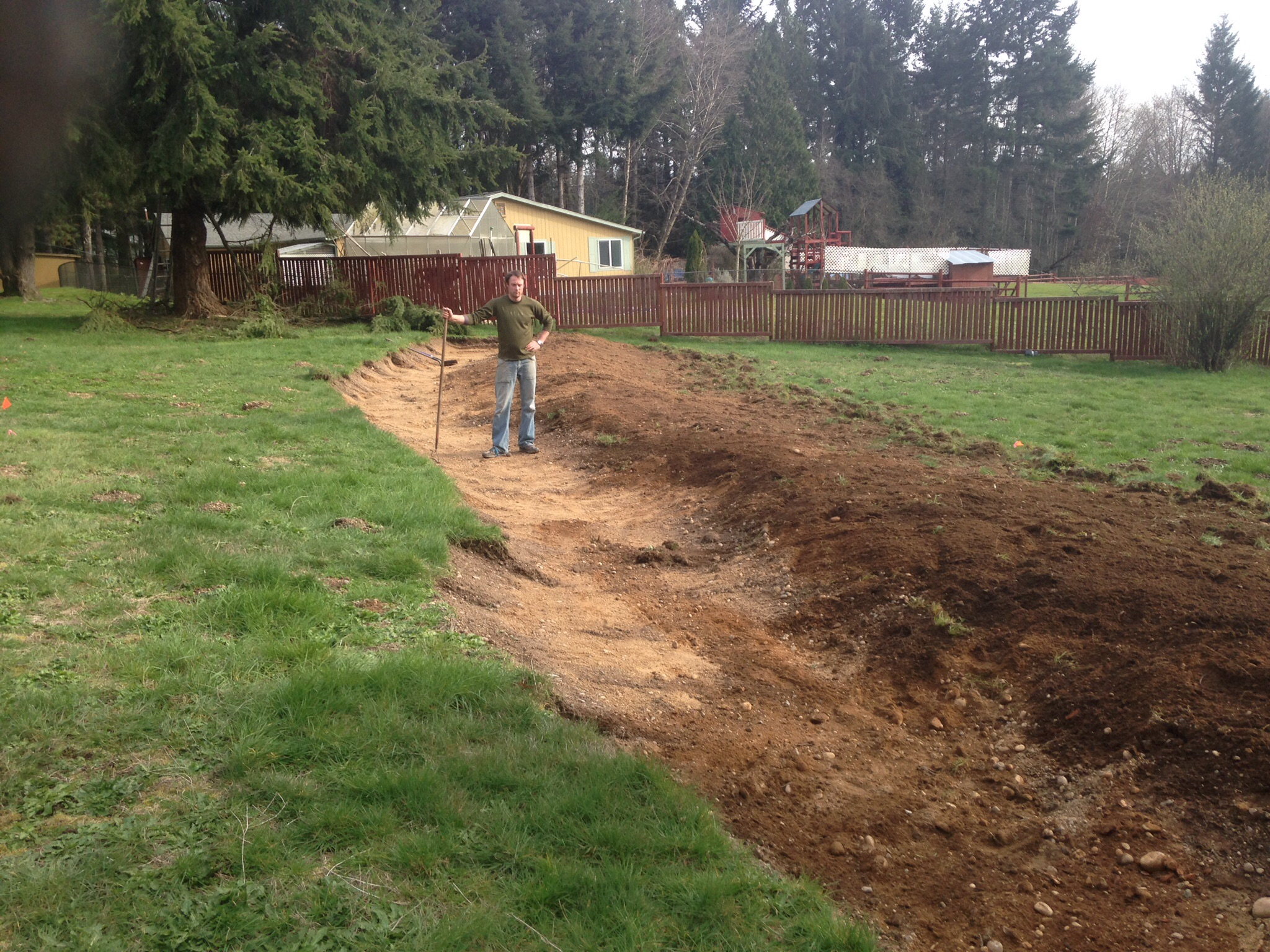 Planting Swale Berms And Swale Size Earthworks Forum At