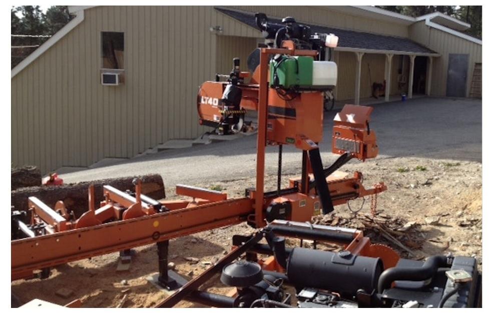 WoodMizer LT 40 Hydrolic, Debarker, Twin Edger for SALE