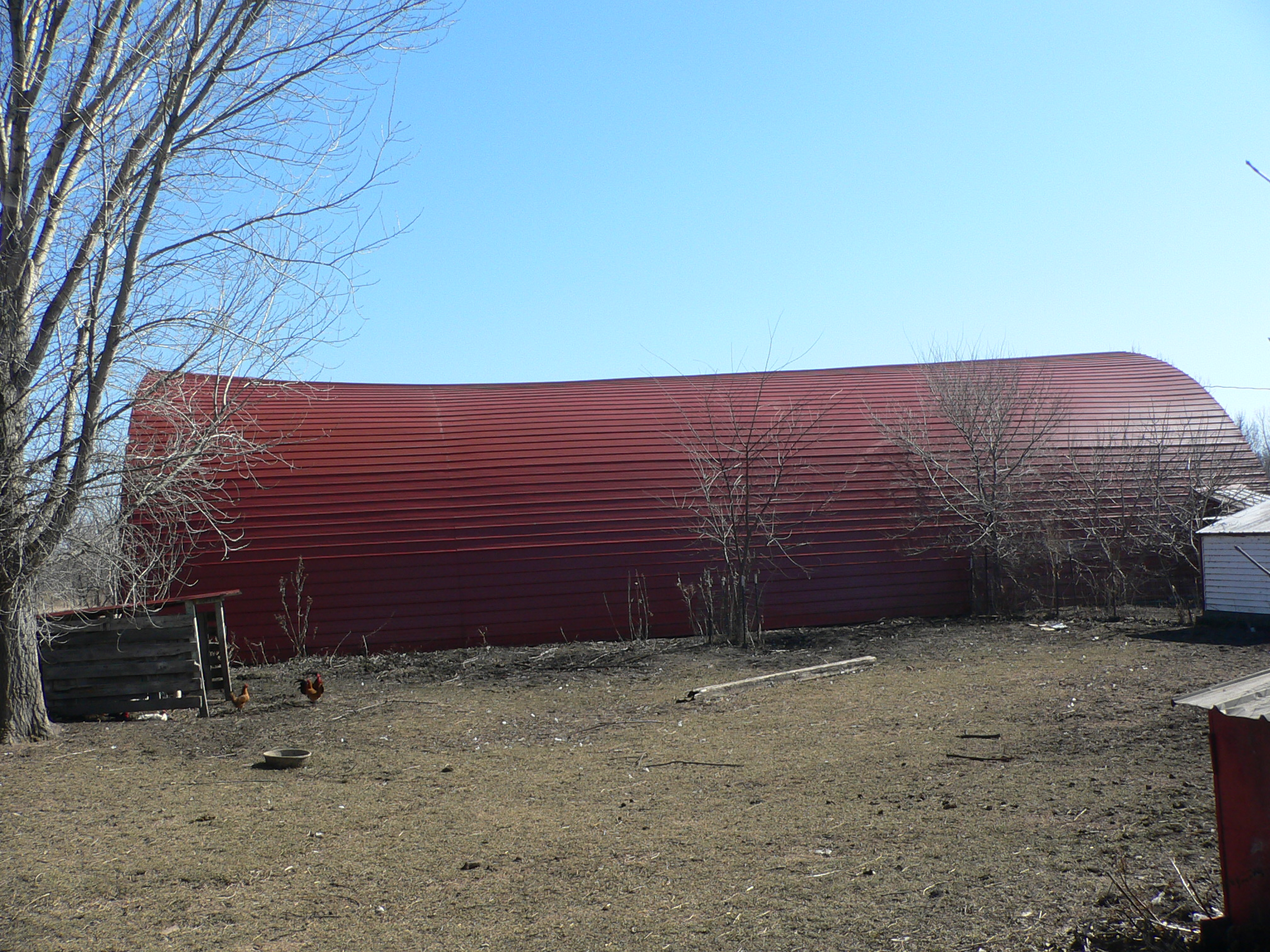 40 X 80 Ft Quonset Roof Sagging In Middlethe Final Chapter 39