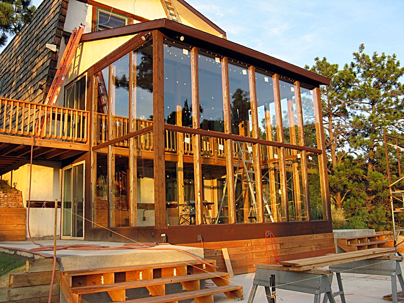 Pulling Heat From Attached Sunspace Passive Solar Forum