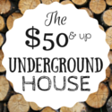How to build a cheap underground house