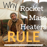 Better wood heat - rocket mass heaters