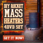 Build your own rocket mass heater!