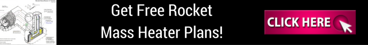 Get free rocket mass heater plans and other goodies for subscriing!