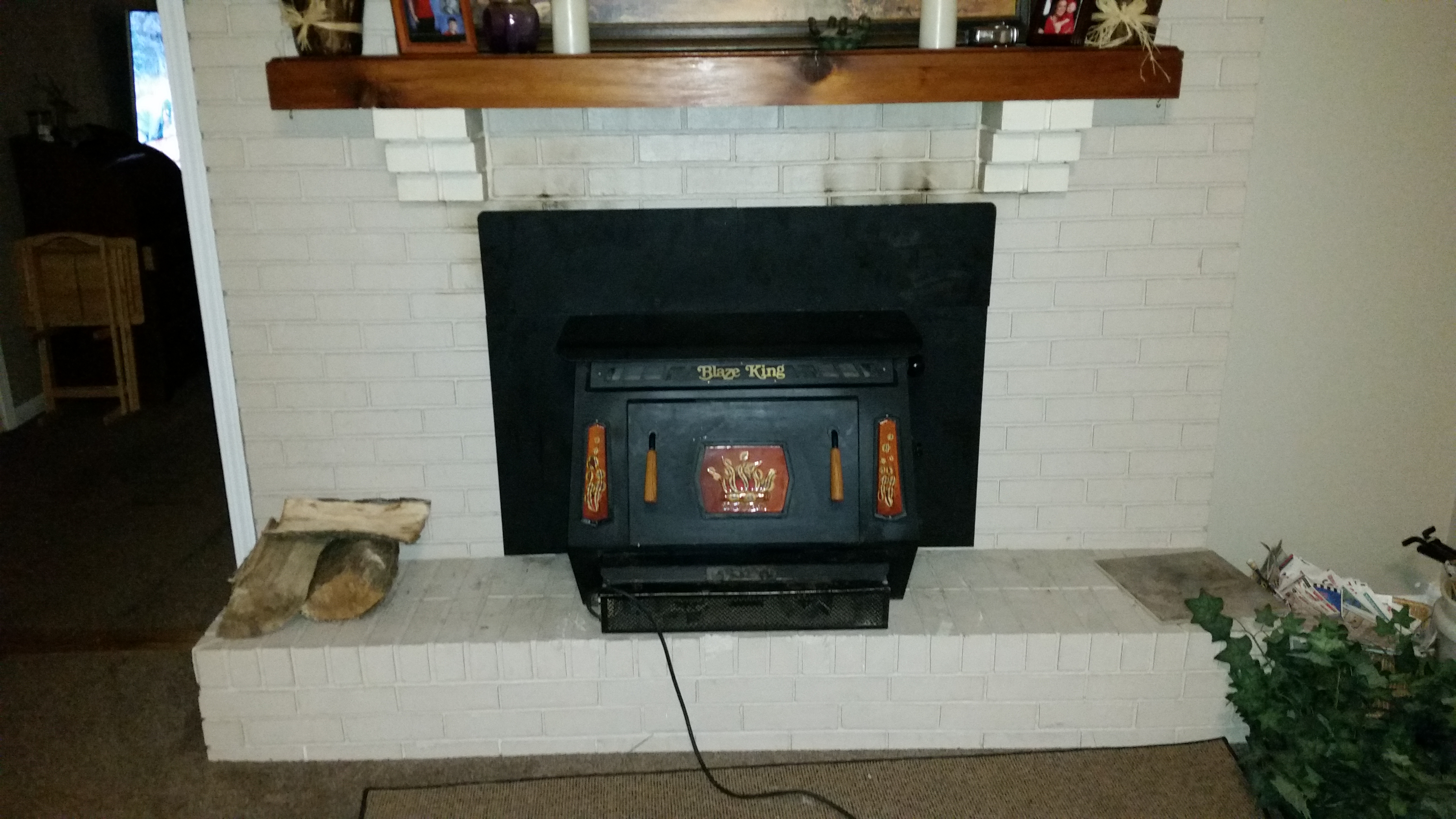 blaze king fireplace inserts.  Thumbnail for 20151101 202013 jpg Old Blaze King KFF 403 wood burning stoves forum at permies