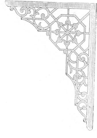 shelf bracket pattern A