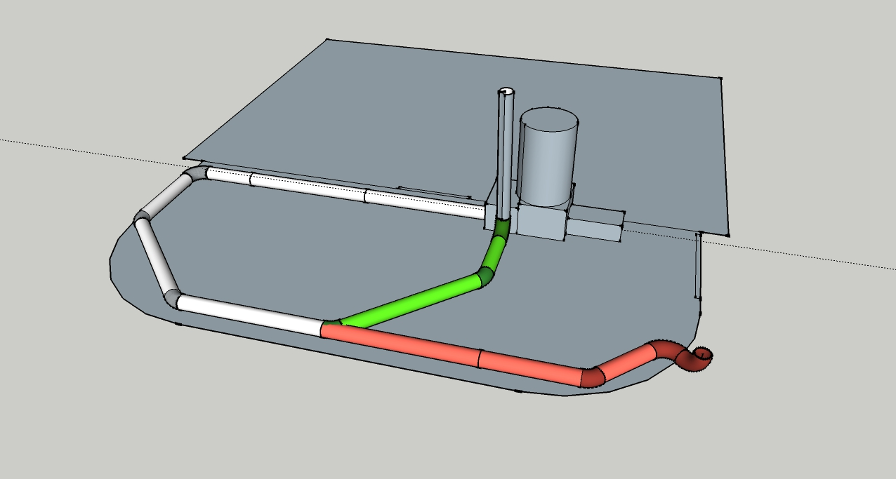 Barn Addition Rocket Mass Heater Forum At Permies Stove Plumbing Diagram Thumbnail For New Coop Ducting Quick And To Scale