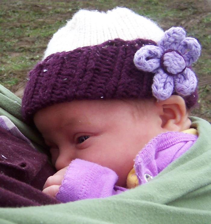 [Thumbnail for knit-baby-newborn-hat-wool-silk-purple-white-flower-hand-knit-permaculture.jpg]