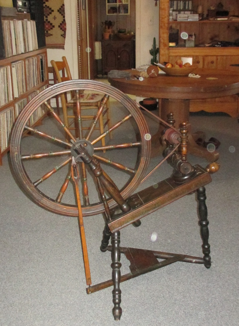 Old Spinning Wheel Photos And Questions