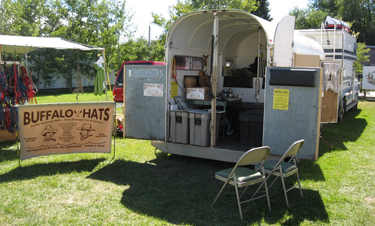 Thumbnail For Hat Trailer Set Up Jpg From Truck Camper Magazine
