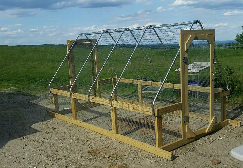 Portable Poles For Overhead Netting Chickens Forum At