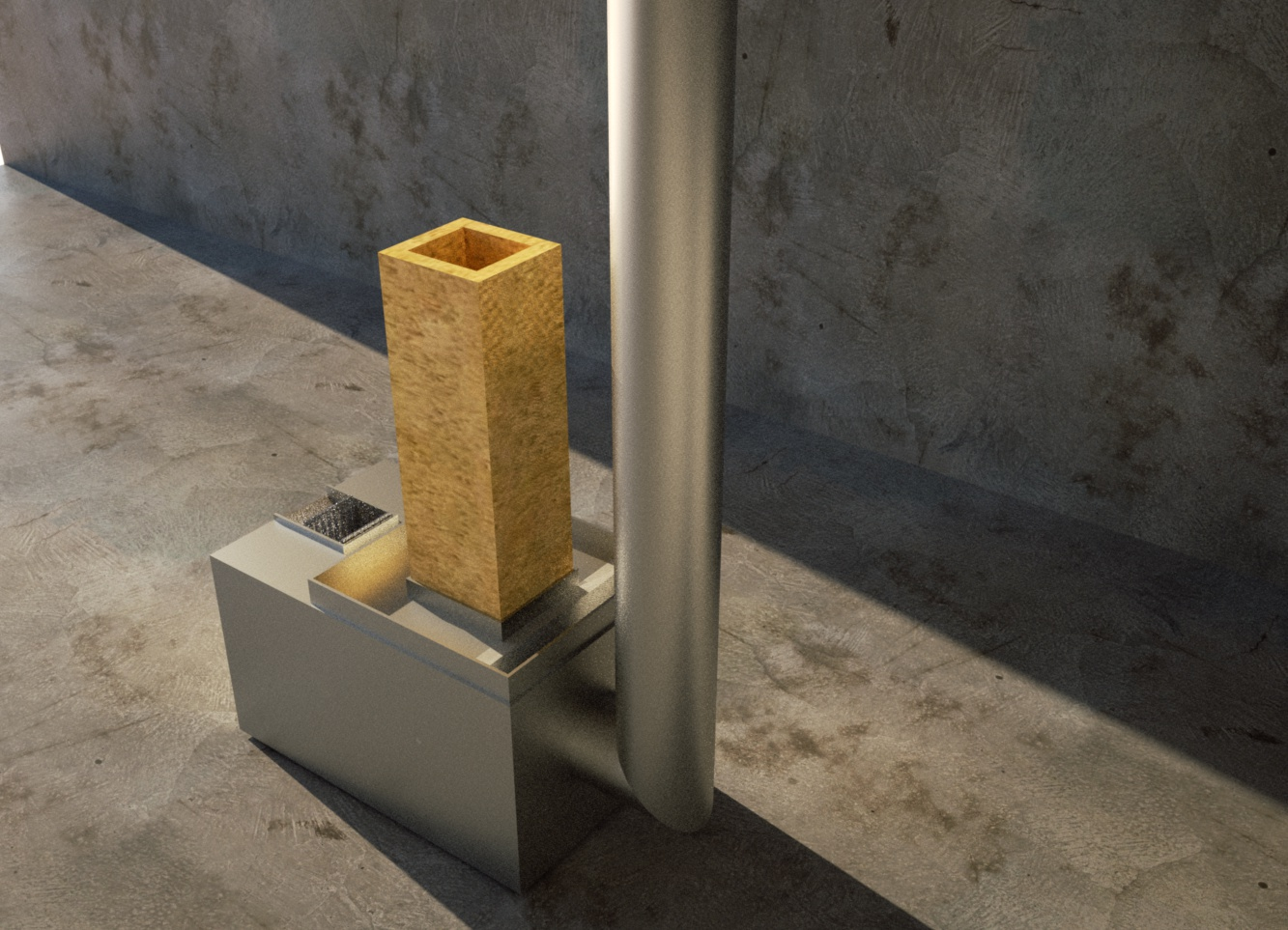 My Adjustable Wood Pellet Rocket Stove Space Heater And