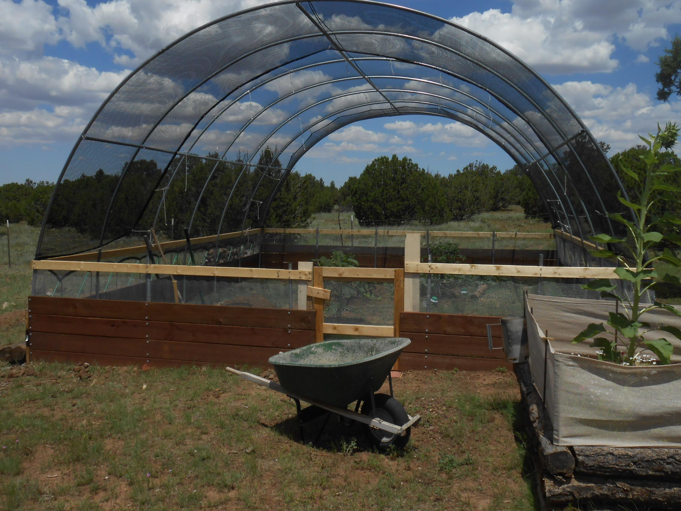 Hoop Houses In High Wind Greenhouses Forum At Permies