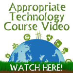 Online appropriate technology course video