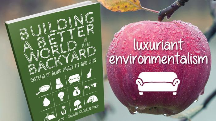 cover for Building a better World in Your Backyard instead of being angry at the bad guys