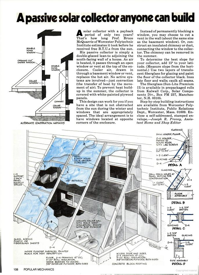 Building & Framing Products   Hill Engineering  Passive Solar Material