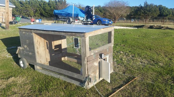 Would An Automatic Opener Work For A Coop Ramp Chickens