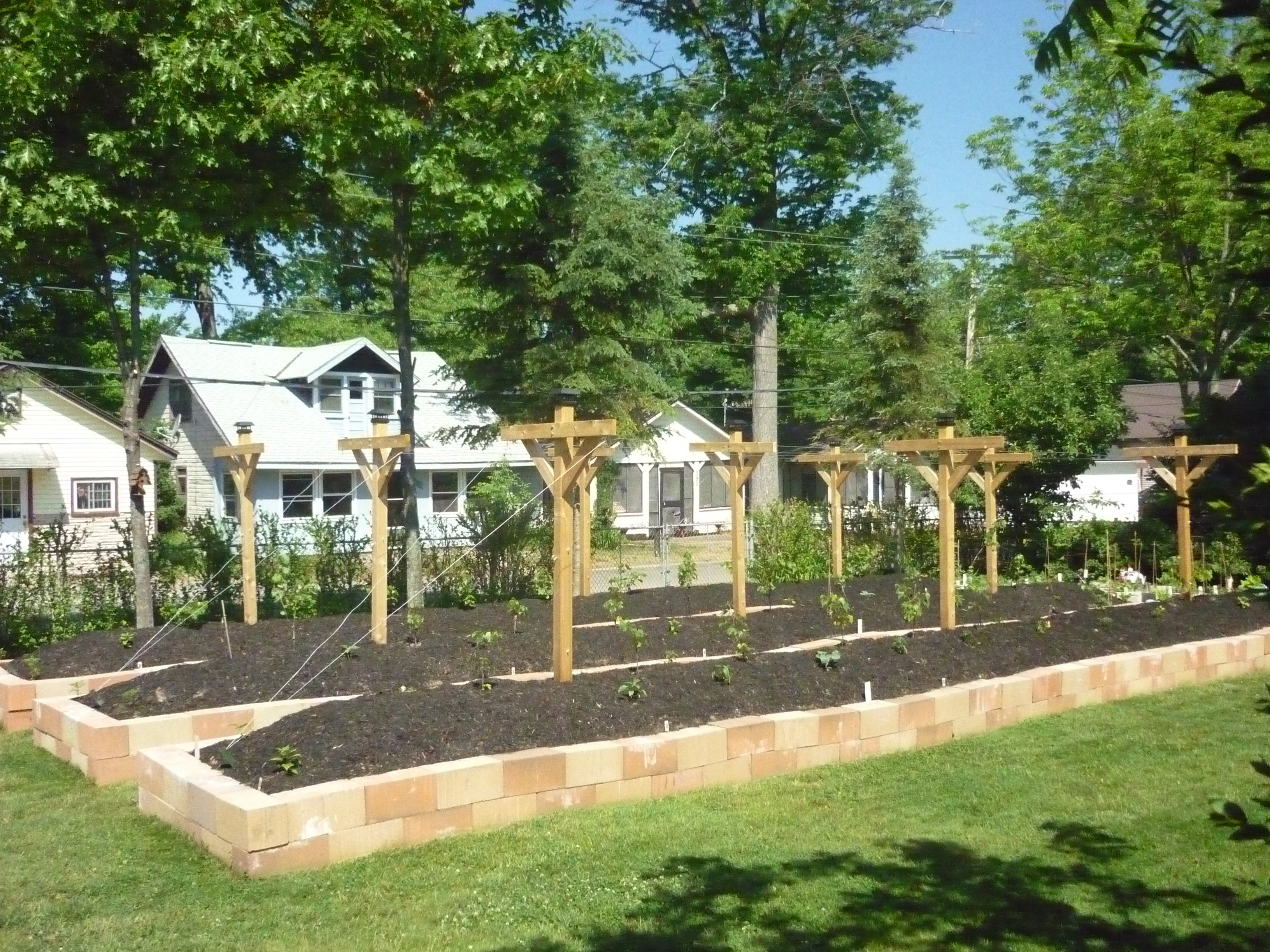 Combining Hugelkultur Raised Beds And Sheet Mulch