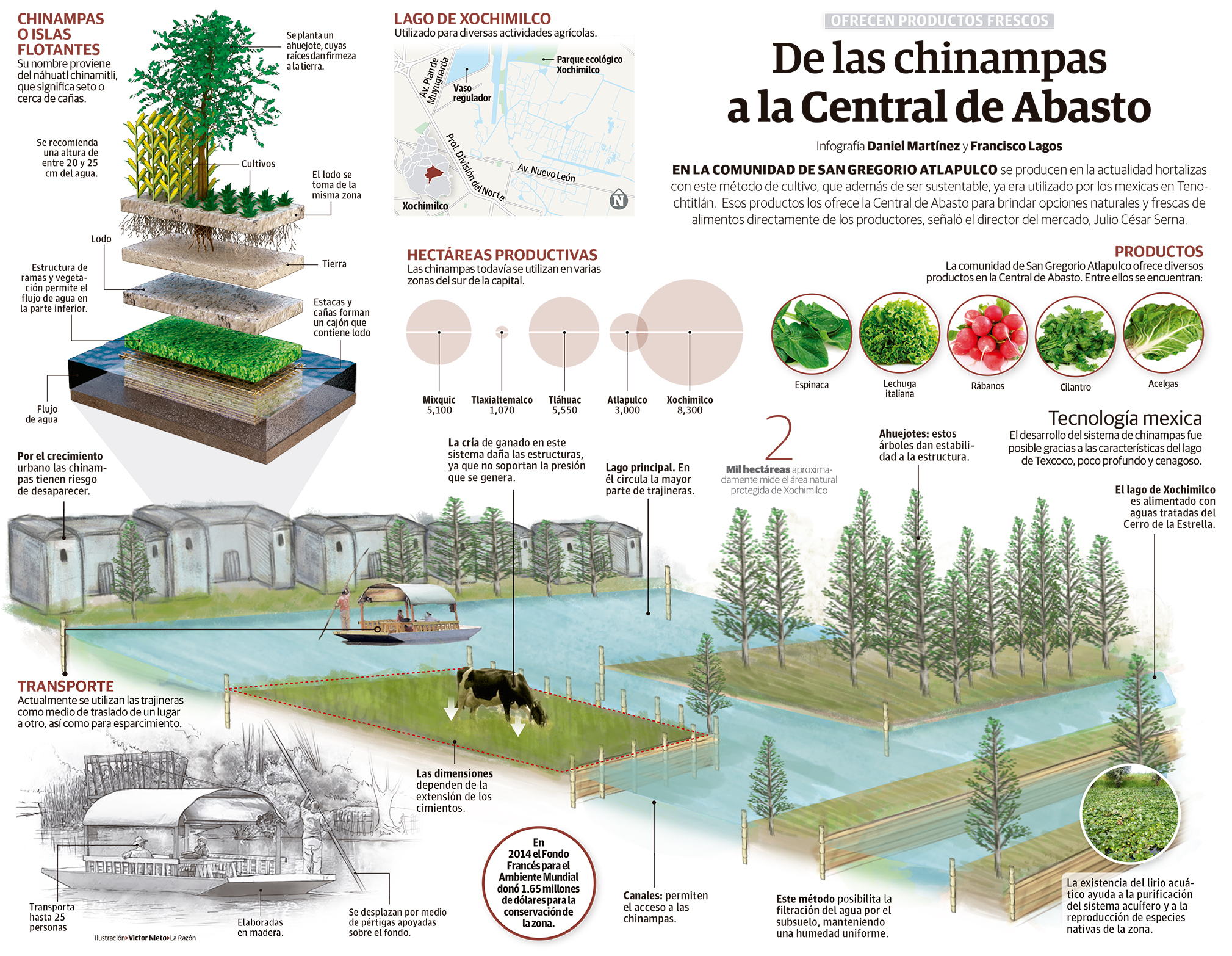 Images Of Chinampas Share For Teaching Education Earthworks Forum At Permies