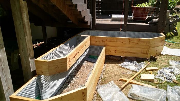 raised beds with liner