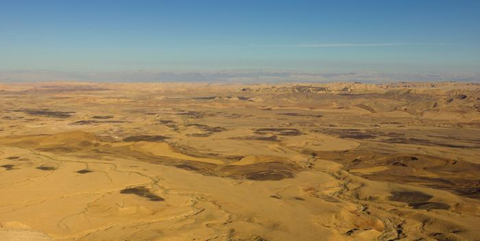Negev desert by Andrew Shiva WikiMedia.org, not lookin' very fertile after 10k years of ag