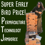 building brick rocket stove Permaculture Technology Course Early Bird Price