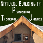 wofati and natural building at Permaculture Technology Course