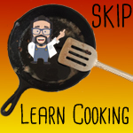 SKIP Paul in a cast iron skillet