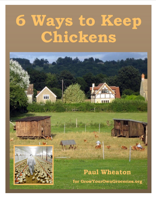 6 Ways to Keep Chickens by Paul Wheaton, ebook