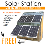 solar station construction plans