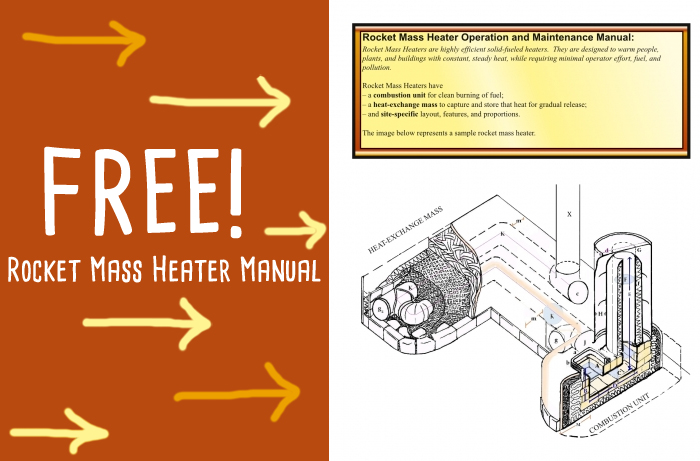 Erica and Ernie's Rocket mass heater manual