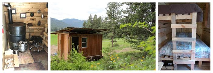 Love Shack, porta-a-cabin at Wheaton Labs, vacation rentals