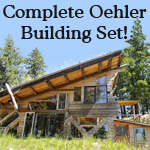 Oehler complete underground house and green house set