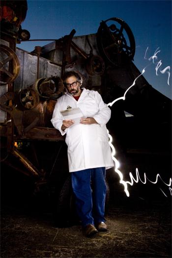 Paul Wheaton mad scientist lightning