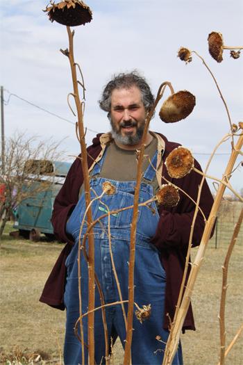 paul wheaton overalls sunflower