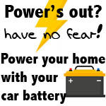Power's out? Power your home with your car