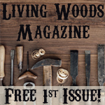 Living Woods Magazine Woodcarving free 1st issue