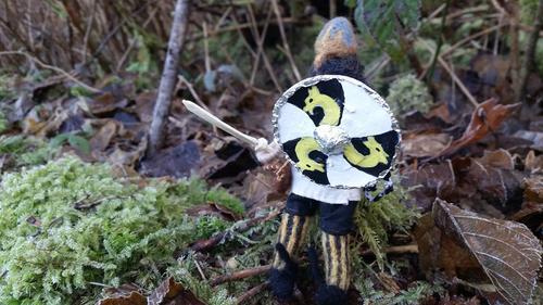 natural viking figure