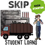 SKip students loans through permaculture kickstarter