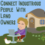 SKIP kickstarter connecting landowners to industrious people