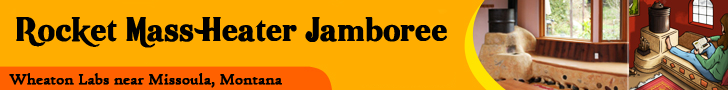 Rocket Mass Heater Jamboree at Wheaton labs
