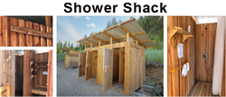 rocket-powered shower shack