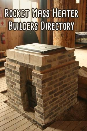 rocket cookstove brick registry of Rocket Mass Heater builders