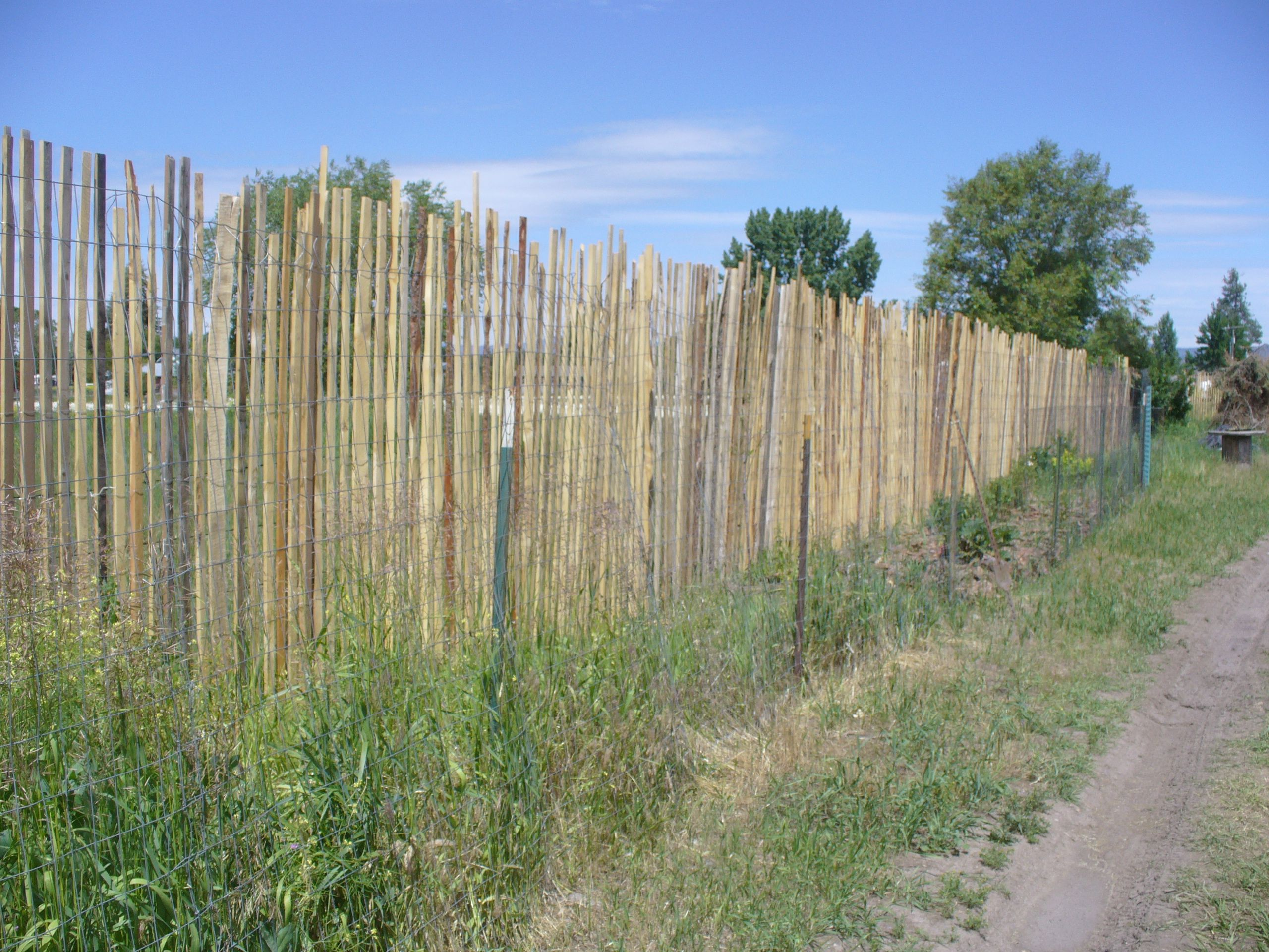 How do I make this fence? (fencing forum at permies)