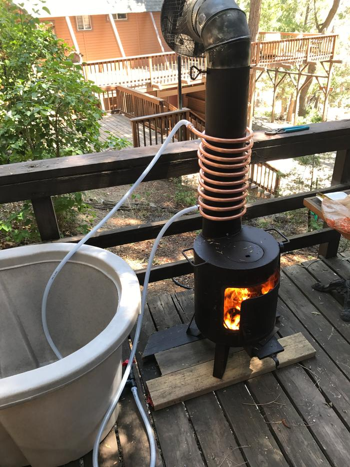 Help With Wood Fired Hot Tub Wood Burning Stoves Forum At