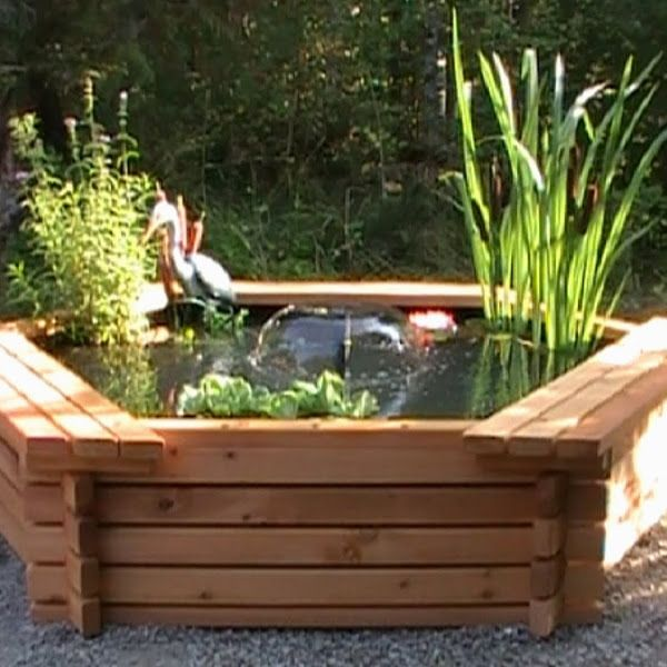 Build A Raised Pond: Small Pond For A School Yard (ponds Forum At Permies