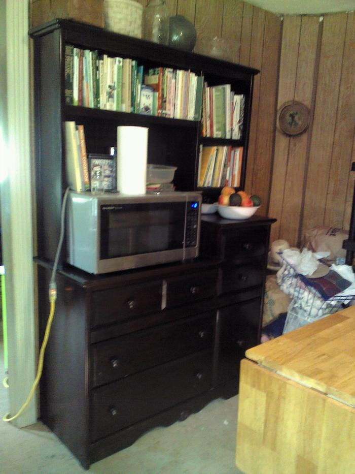 originally a bedroom dresser