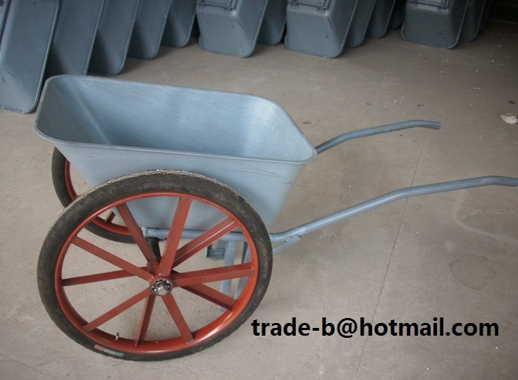 garden cart with big 26 inch wheels homestead forum at permies